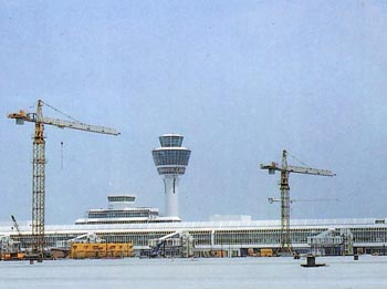 Air bridges for Munich airport