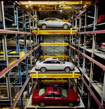 Gerhard Haag and Robotic Parking